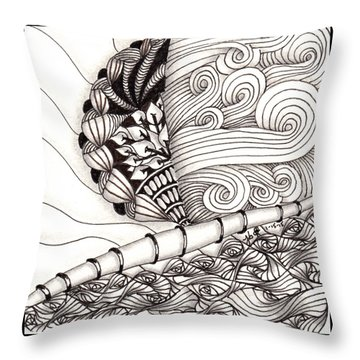 Jamaican Dreams Throw Pillow
