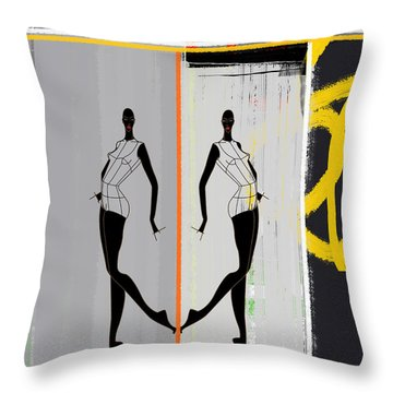 Jamaican Tunes Throw Pillow