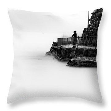 Jamais Vu  Throw Pillow