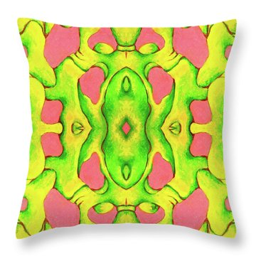 Jamdown High Throw Pillow