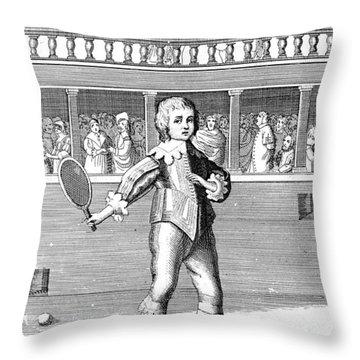 James II (1633-1701) Throw Pillow by Granger