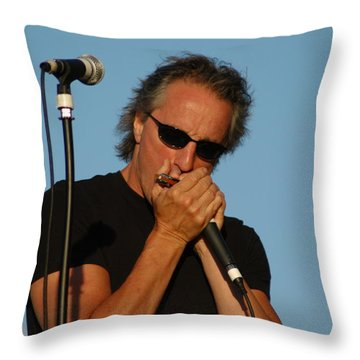 James Montgomery Throw Pillow by Mike Martin
