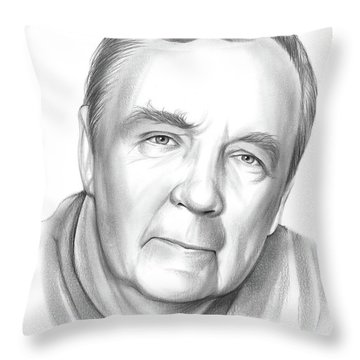 James Patterson Throw Pillow