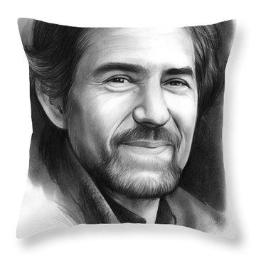 James Roy Horner Throw Pillow
