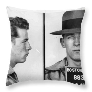 James Whitey Bulger Mug Shot 1953 Horizontal Throw Pillow