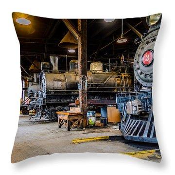 Jamestown Roundhouse Throw Pillow