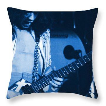 Jamie's Crying The Blues In Spokane Throw Pillow by Ben Upham