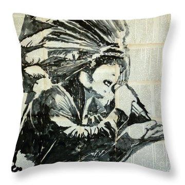 Jamiroquai Throw Pillows