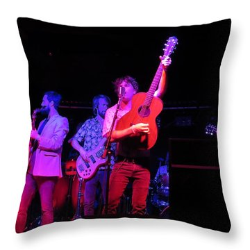 Throw Pillow featuring the photograph Jammin by Aaron Martens