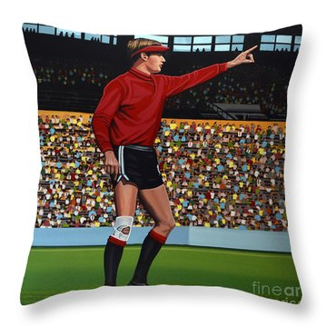 Jan Van Beveren Throw Pillow by Paul Meijering