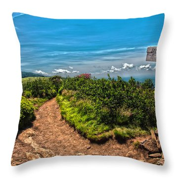 Jane Bald Throw Pillow