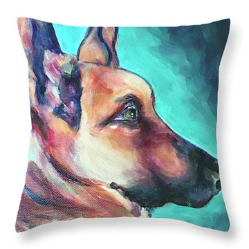 January Throw Pillow