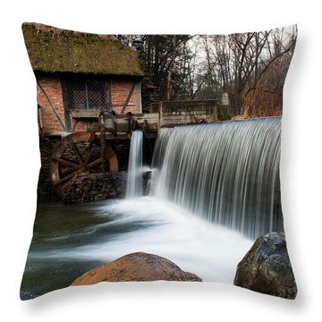 January Morning At Gomez Mill #2 Throw Pillow by Jeff Severson