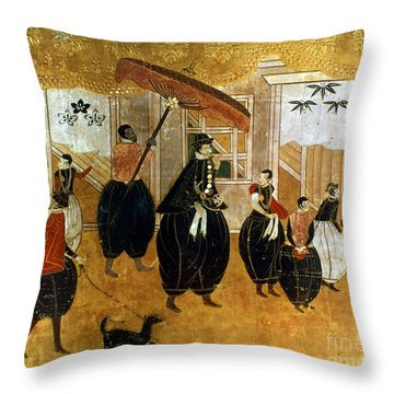 Japan: St. Francis Xavier Throw Pillow