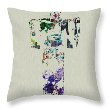 Japanese Dance Throw Pillow