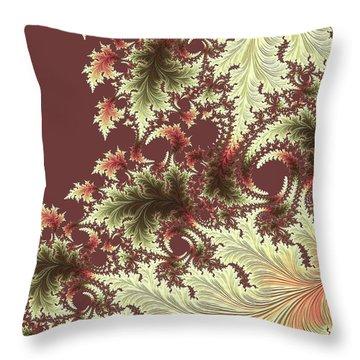 Throw Pillow featuring the digital art Japanese Garden Il by Susan Maxwell Schmidt