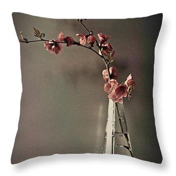 Japanese Inspiration Throw Pillow