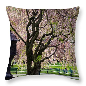 Japanese Lantern Throw Pillow by Susan Cole Kelly