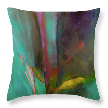 Japanese Longstem By Paul Pucciarelli The Second Throw Pillow