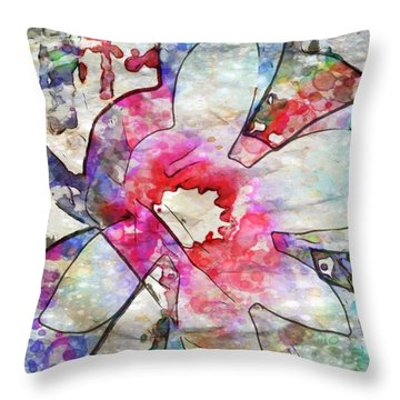 Japanese Magnolia  Throw Pillow