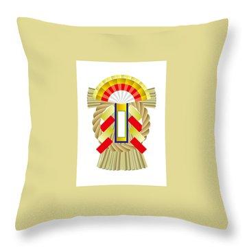 Japanese Newyear Decoration Throw Pillow