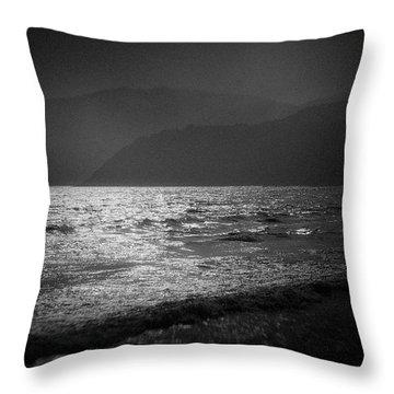 Japanese Sea #1940 Throw Pillow