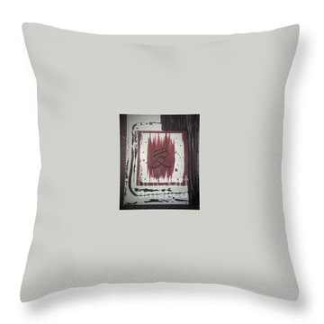 Japaness Love Throw Pillow