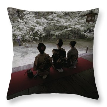 Japan's New Generation Throw Pillow