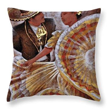 Jarabe Tapatio Dance Throw Pillow