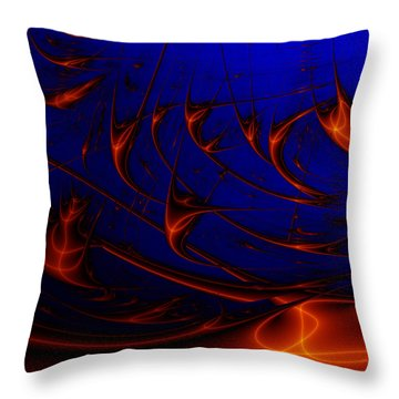 Javaturing Throw Pillow