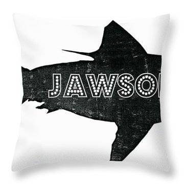 Jawsome Throw Pillow