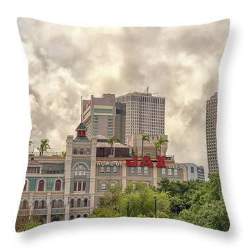 Jax Brewery Throw Pillow