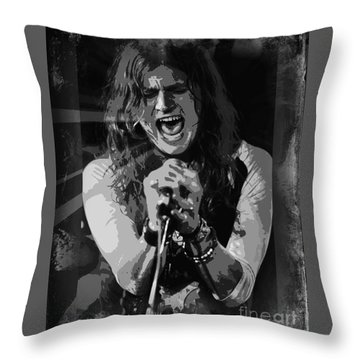 Jay Buchanan Throw Pillow
