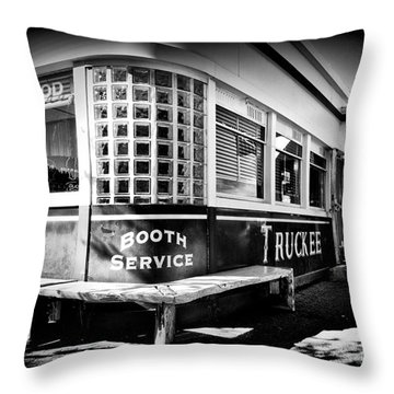Jax Diner, Truckee Throw Pillow