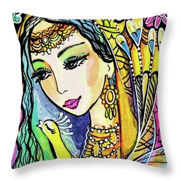 Jayanti Throw Pillow