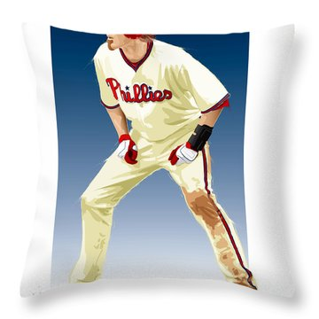 Jayson Werth Throw Pillow
