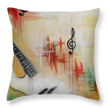 Jazz 001 Throw Pillow