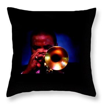 Jazz 11 Throw Pillow