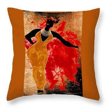 Jazz Reach For It Throw Pillow