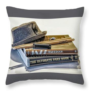 Throw Pillow featuring the photograph Jazz by Walt Foegelle