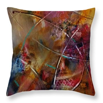 Jazzed Throw Pillow