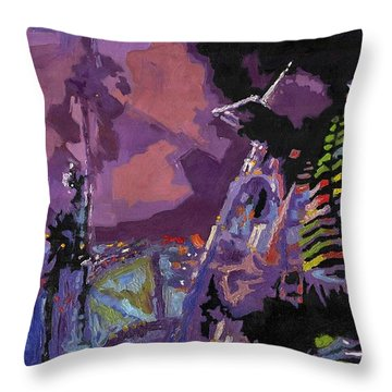 Jazz.miles Davis.4. Throw Pillow