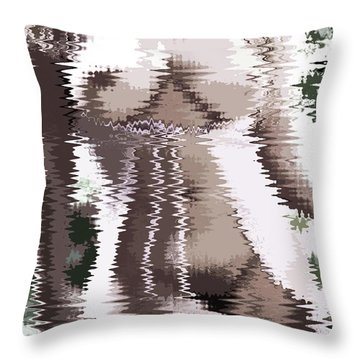 Jazzy Throw Pillow