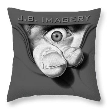 J.b. Imagery Throw Pillow