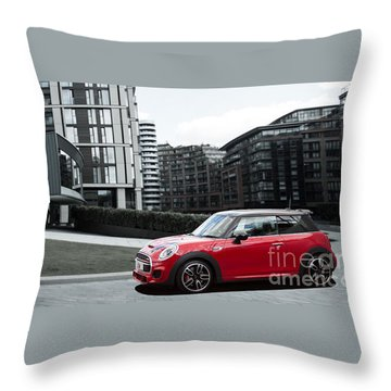 JCW Throw Pillow