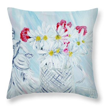 Je Vous Remerci. Thank You Collection Throw Pillow