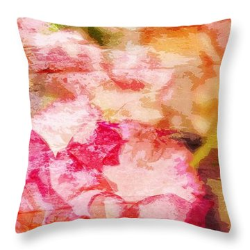 Jean 13-35 Disciples Throw Pillow