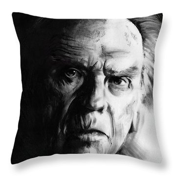 Jean-louis Trintignant Throw Pillow