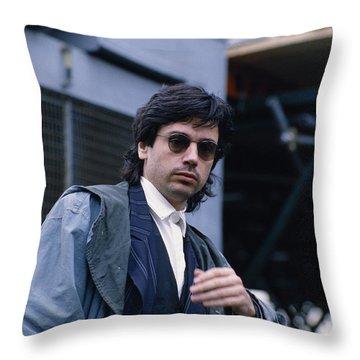 Jean Michel Jarre Throw Pillow
