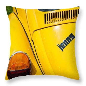 Jeans Bug Throw Pillow